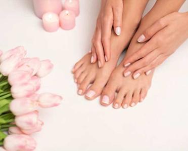 pedicure-manicure